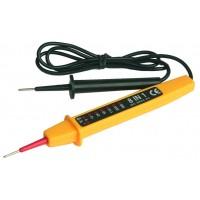 Tester di tensione. TESTER, circuiti di controllo. indica la tensione AC/DC, 6, 12, 24,50,110,220 e 380V.