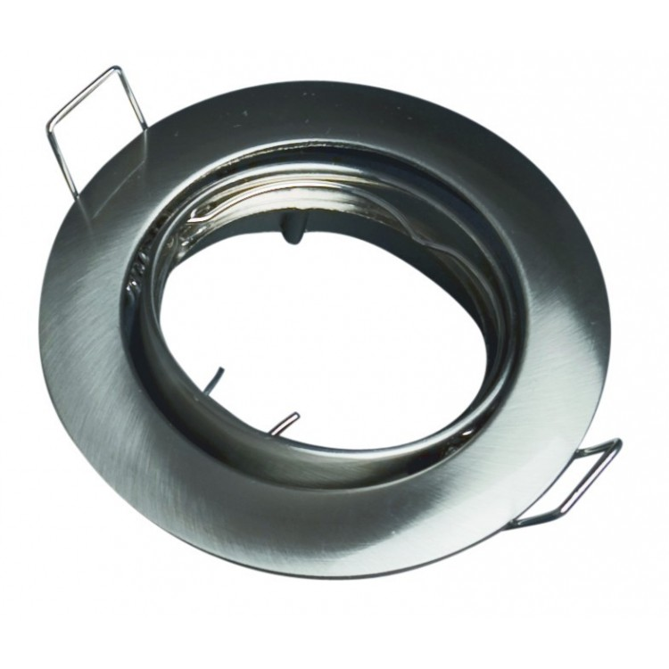 Anello orientabile rotondo da incasso - Bianco