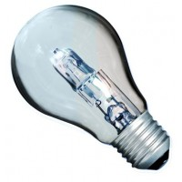 Scatola da 10 lampadine ECO alogene standard E27 70W (100W)