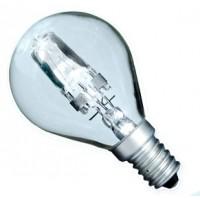 Scatola da 10 lampadine ECO alogena chiara a sfera 42W E14 (60W)