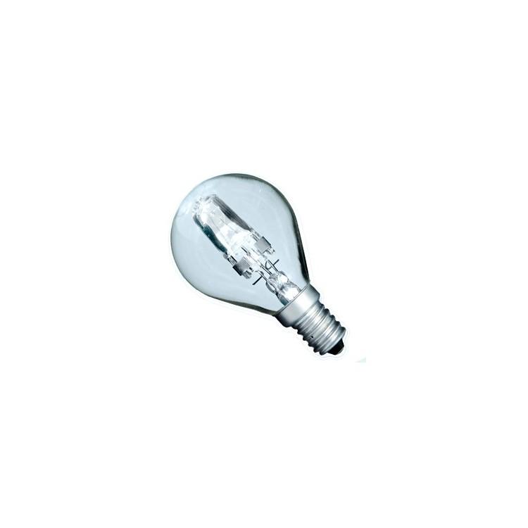 Scatola da 10 lampadine ECO alogena chiara a sfera 28W E14 (40W)
