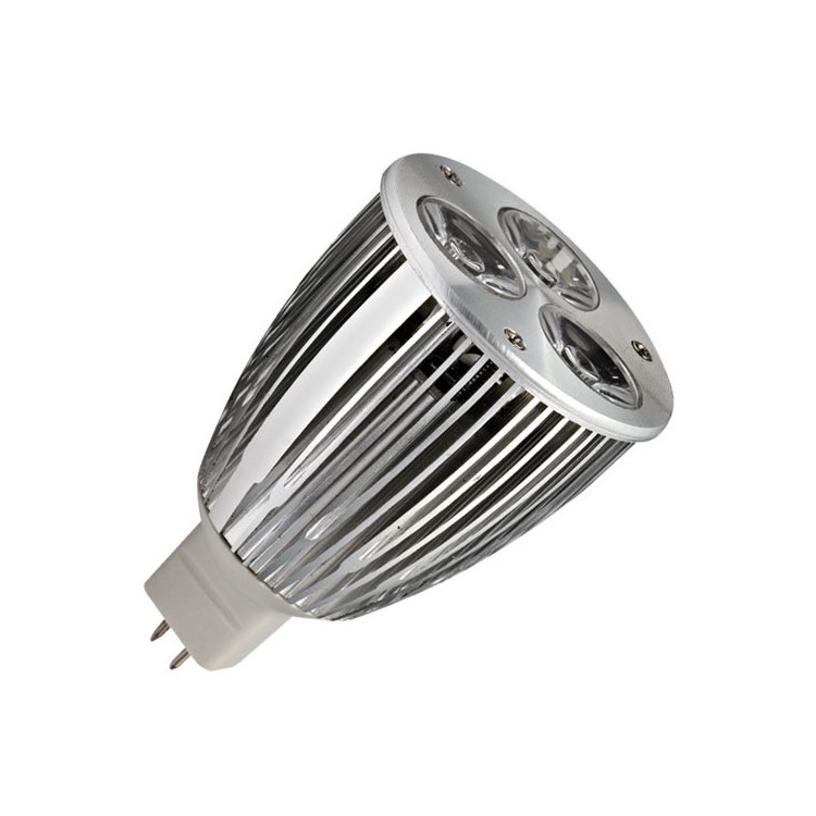Lampadine LED MR16 7,5W 350lm 2700K 50º