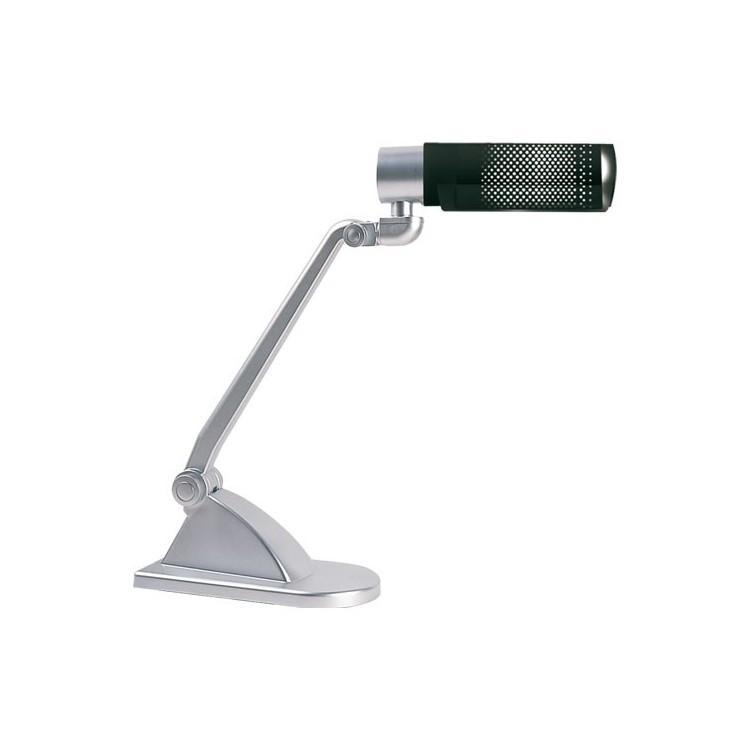 Lampada flessibile grigia da scrivania - Bronn