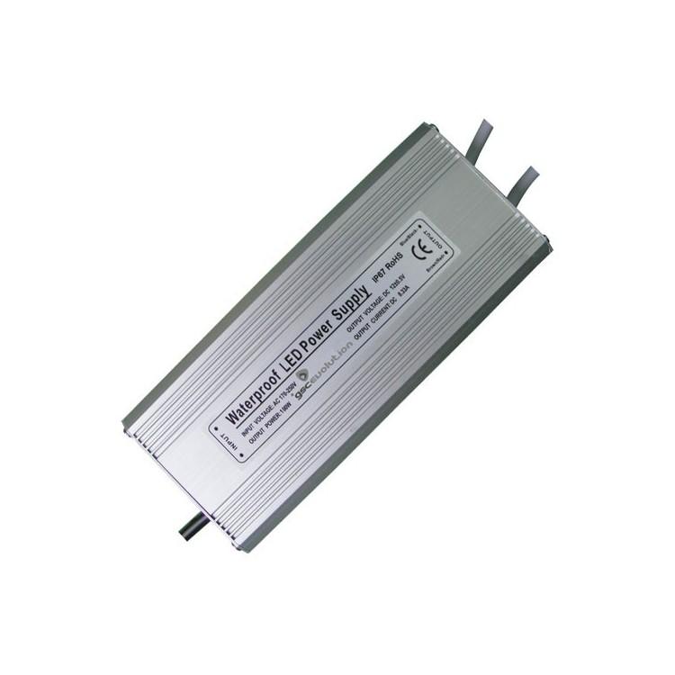 Trasformatore impermeabile IP67 per strisce LED da 150W