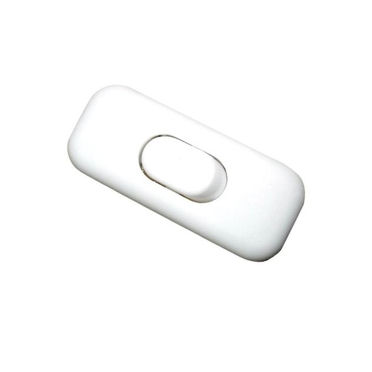 Interruttore a pulsante bianco, 3A 250V