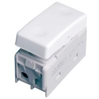 Interruttore pulsante singolo per scatola impermeabile IP40 / IP55  10A 250V 50Hz