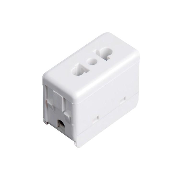Presa euro americana singola per scatola impermeabile IP40 / IP55 - 250V 16A