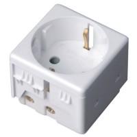 Presa shucko per scatola impermeabile IP40 / IP55 - 250V 16A