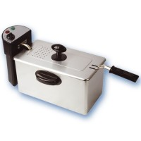 Friggitrice da 3 Litri in acciaio inox , 2000 watt.