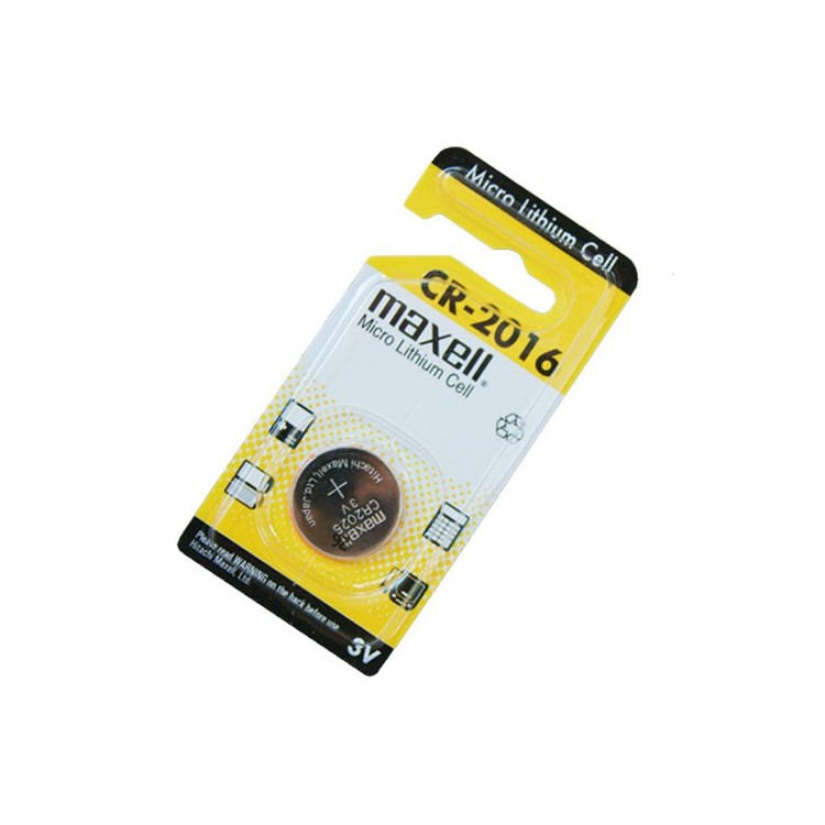 Scatola da 20 pile bottone a litio Maxell CR2016 3V
