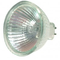 Scatola 10 lampadine alogena dicroica MR16 50W 36 °