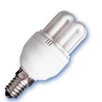 Scatola da 10 lampadine a basso consumo mini 6U 20W E14 6400K Luce fredda