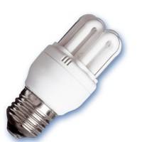 Scatola da 10 lampadine A basso consumo mini 6U 20W E27 2700K Luce calda