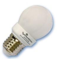 Scatola da 10 lampadine sferiche a basso consumo 9W E14 2700K Luce calda