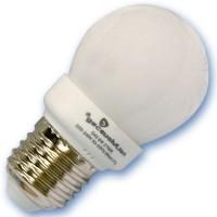 Scatola da 10 lampadine sferiche a basso consumo 11W E27 4200K Luce giorno