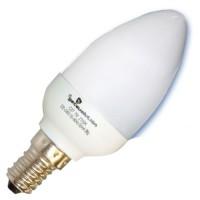 Scatola da 10 lampadine candela a basso consumo 7W E14 6400K Luce fredda