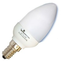 Scatola da 10 lampadine candela a basso consumo 11W E14 6400K Luce fredda