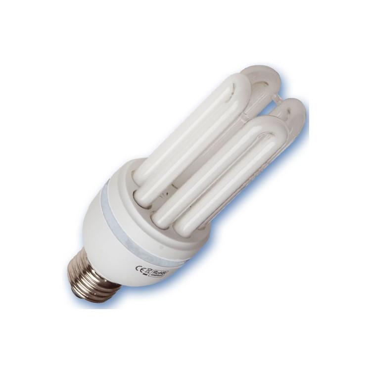 Scatola da 10 lampadine a basso consumo 45W E27 2700K Luce calda