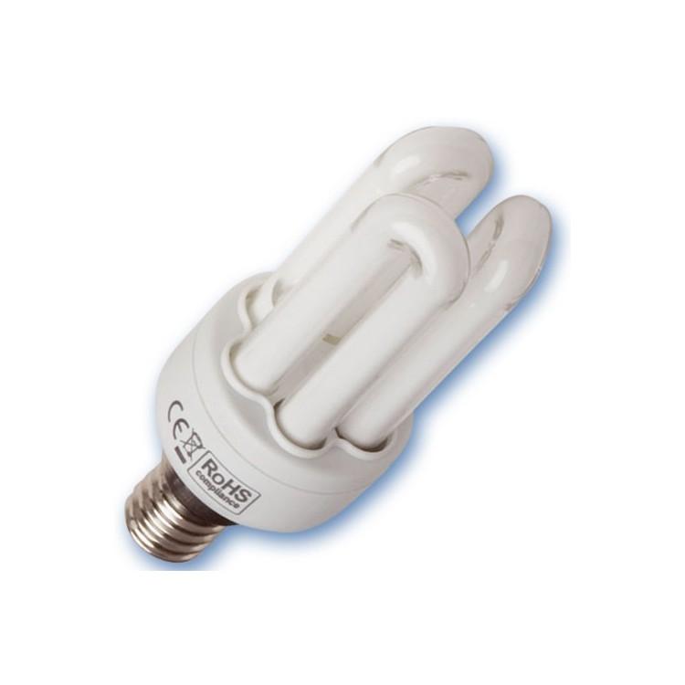Scatola 10 lampadine a basso consumo Micro 9W E14 2700K Luce calda