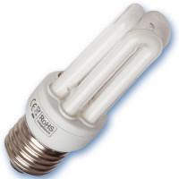 Scatola da 10 lampadine a basso consumo Micro 9W E27 2700K Luce calda