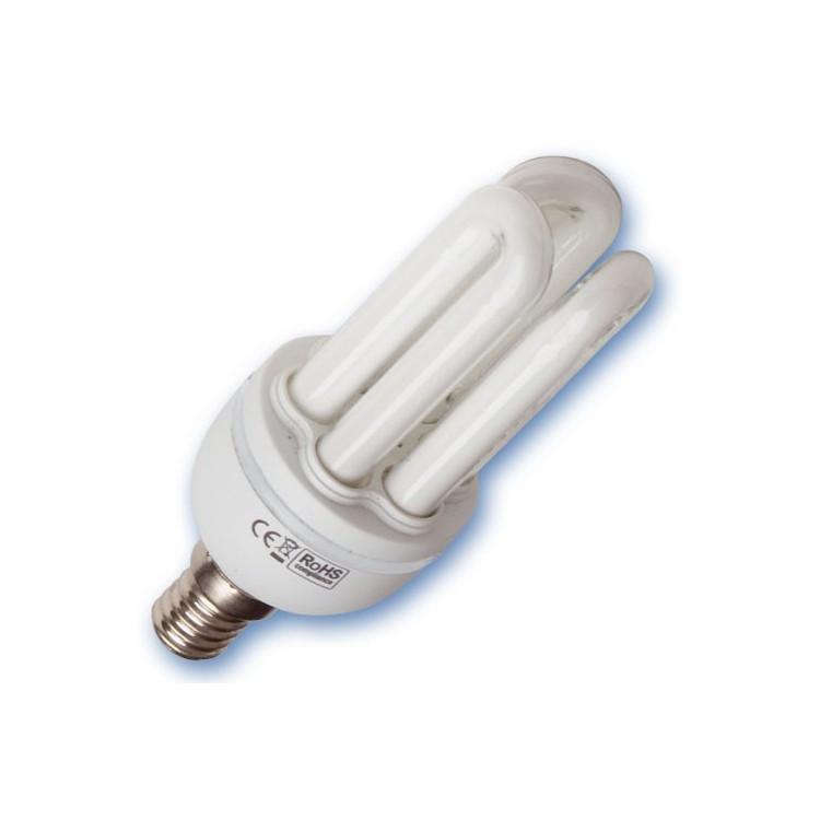 Scatola da 10 lampadine Mini a basso consumo 11W E14 4200K Luce naturale