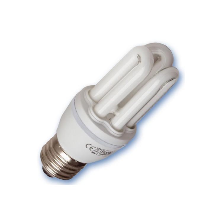Scatola da 10 lampadine Mini a basso consumo 20W E27 4200K Luce naturale
