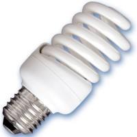Scatola da 10 lampadine spirale a basso consumo 20W E27 6400K Luce giorno