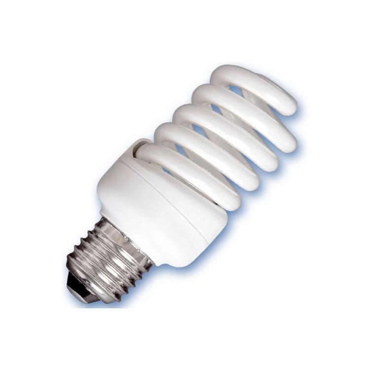Scatola da 10 lampadine spirale a basso consumo 25W E27 2700K Luce calda