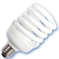 Scatola 10 lampadine spirale a basso consumo 20W E27 2700K Luce calda