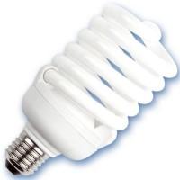 Scatola da 10 lampadine spirale a basso consumo 25W E27 6400K Luce fredda