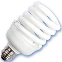 Scatola 10 lampadine a basso consumo a spirale E27 30W 2700K Luce calda