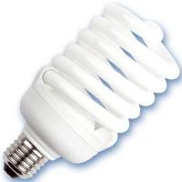 Scatola 10 lampadine basso consumo a spirale 40W E27 2700K Luce calda