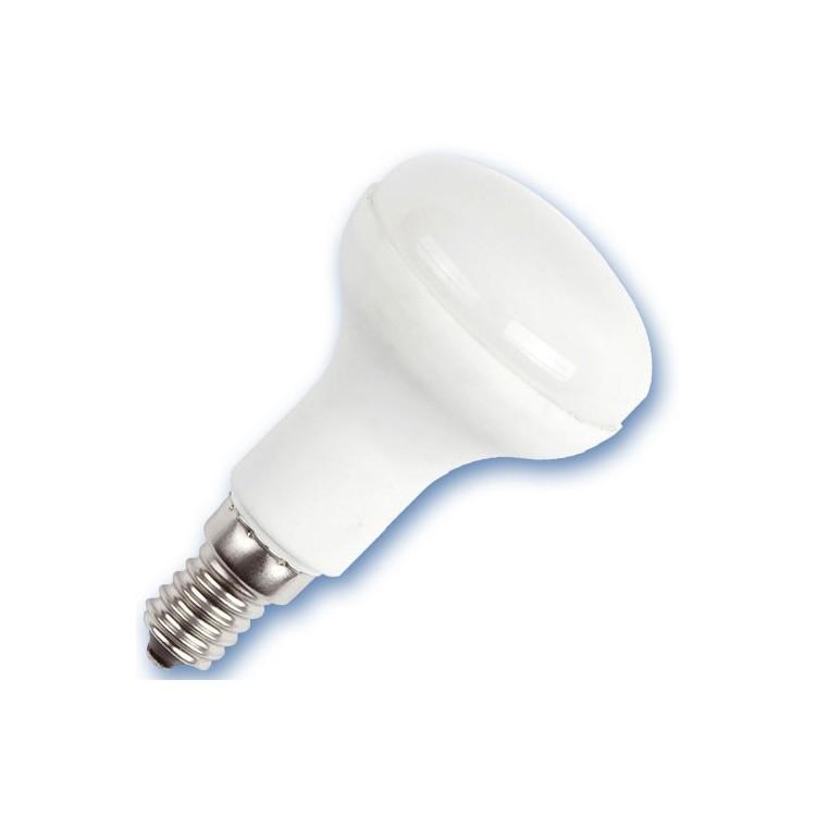 Scatola 10 lampadine riflettente  a basso consumo R50 11W E14 2700K Luce calda