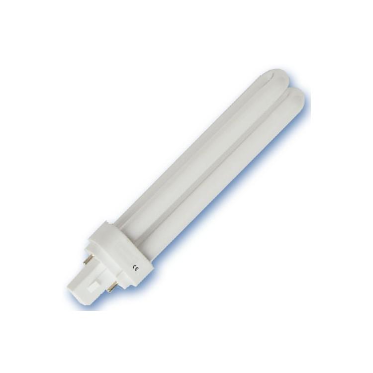 Scatola da 10 lampadine G24d PLC a basso consumo 26W 2700K Luce calda