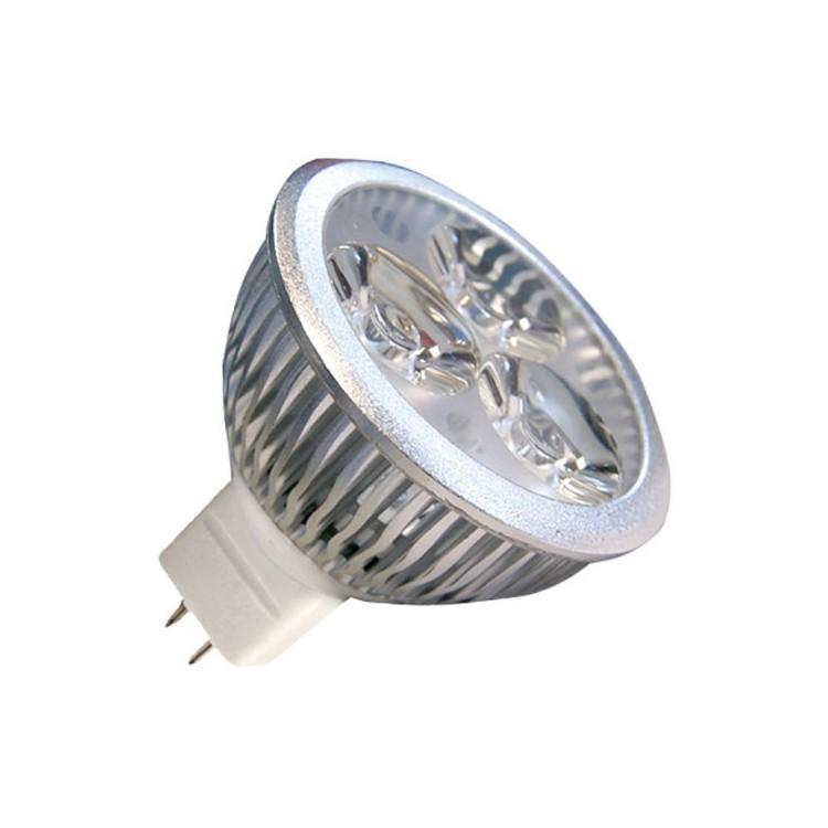 Lampadine LED MR16 4,5W 240lm 2700K