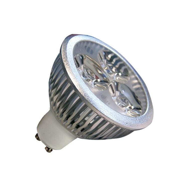 Lampadine LED GU10 4,5W 240LM 2700K 38º