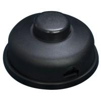 Interruttore a pedale nero, 6A 250V