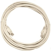 Cavo di collegamento Internet UTP CAT 5e 7.5m - bianco