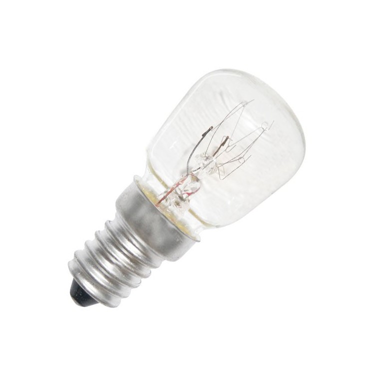 Scatola da 10 lampadine per frigorifero 25W 240V E14