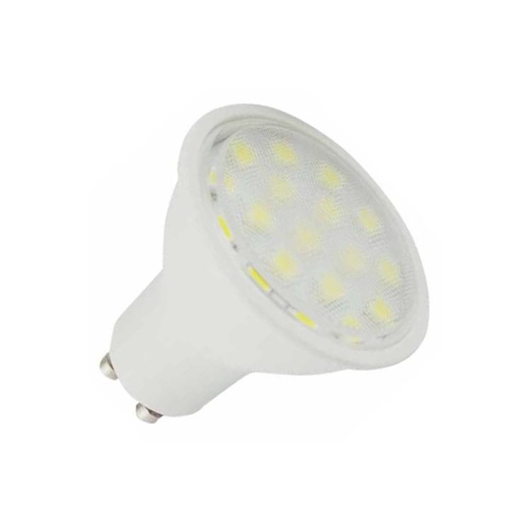 Lampadine LED GU10 5W 120° Luce calda