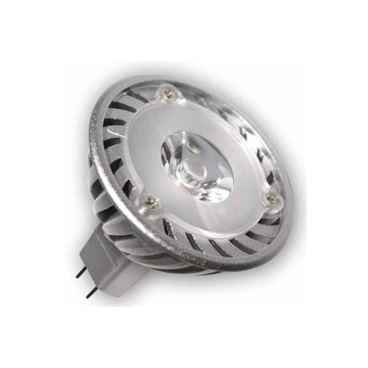 Lampadine LED MR16 G5,3 3W 130lm 38° Luce fredda 6400K