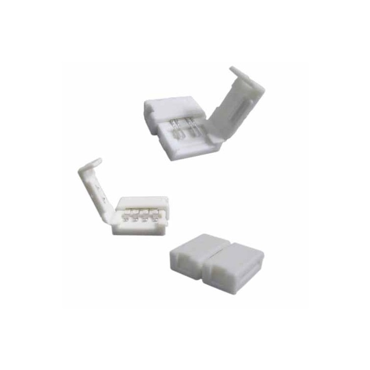 Connettore striscie LED SMD5050 10mm bianco