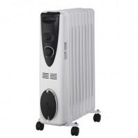 Stufa radiatore ad olio 11 elementi, 2500W