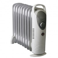 Mini stufa radiatore ad olio 7 elementi 700W