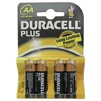Scatola 20 blister pack di 4 unità di batteria LR-06 AA DURACELL Plus alcaline