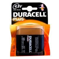 Scatola da 10 blister da 1 pila piatta Duracell Plus 3LR12 - 4.5V - batterie alcaline