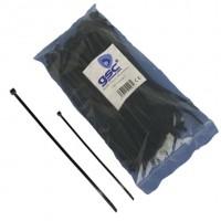 Borsa da 25 fascette 160mm x 2.5mm 100% nylon color nero