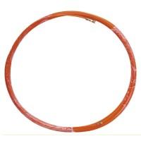 Sonda passacavi professionale in fibra di vetro e metallo da 5 metri, 4mm di grossore