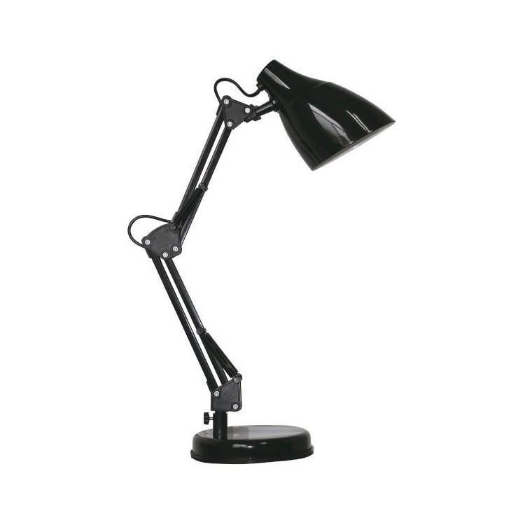 Lampada da tavolo articolata color nero - Benny