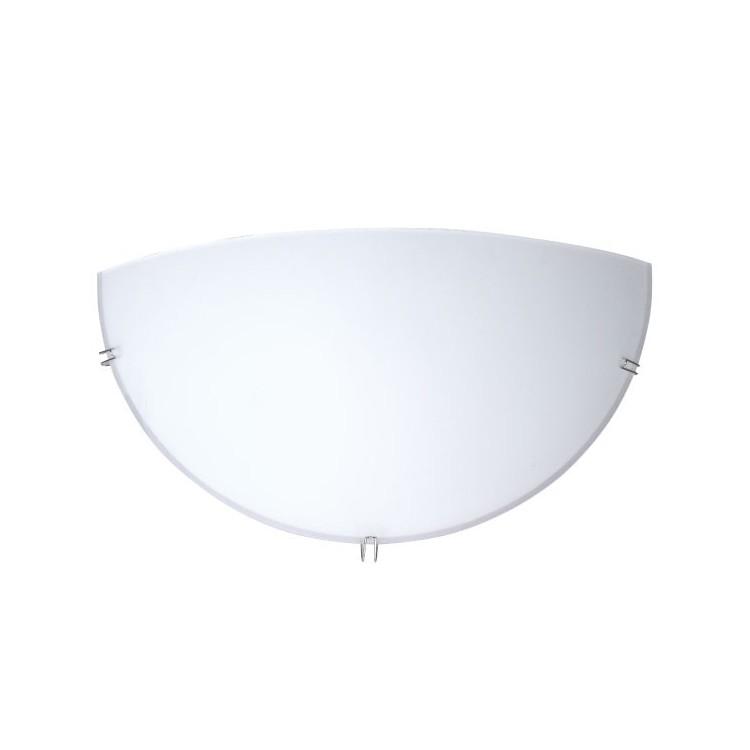 Applique da parete semicircolare E27 20W/60W color bianco